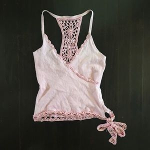 Venus Crochet Crop Halter Size Medium
